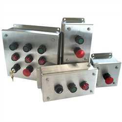 Adalet CSC4X6-080806 (2x2 w/ Terminal Blocks)  CSC Series Pushbutton Station Enclosures Image