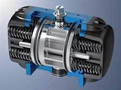 Amg Pesch SAF-45-BR16  Pneumatic Actuator Image