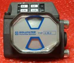 Bollfilter 0550001 TYPE: 4.36.2 Differential Pressure Indicator Image
