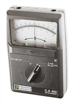 Chauvin Arnoux CA 403 Zero Galvanometer Image