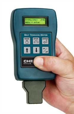Checkline BTM-400PLUS  Belt Tension Meter Image
