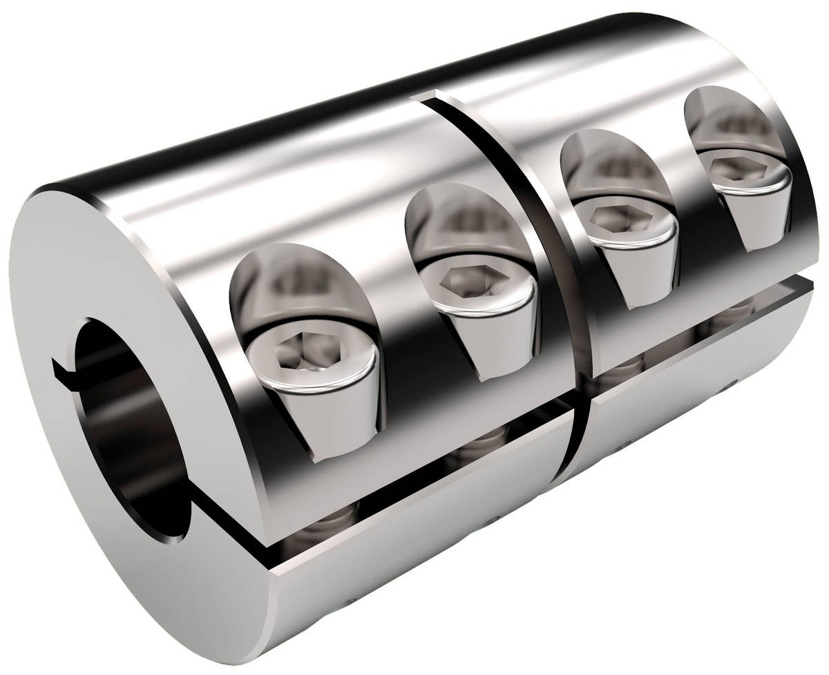 Desch Clamp coupling steel/ stainless steel one-piece/two-piece design Image