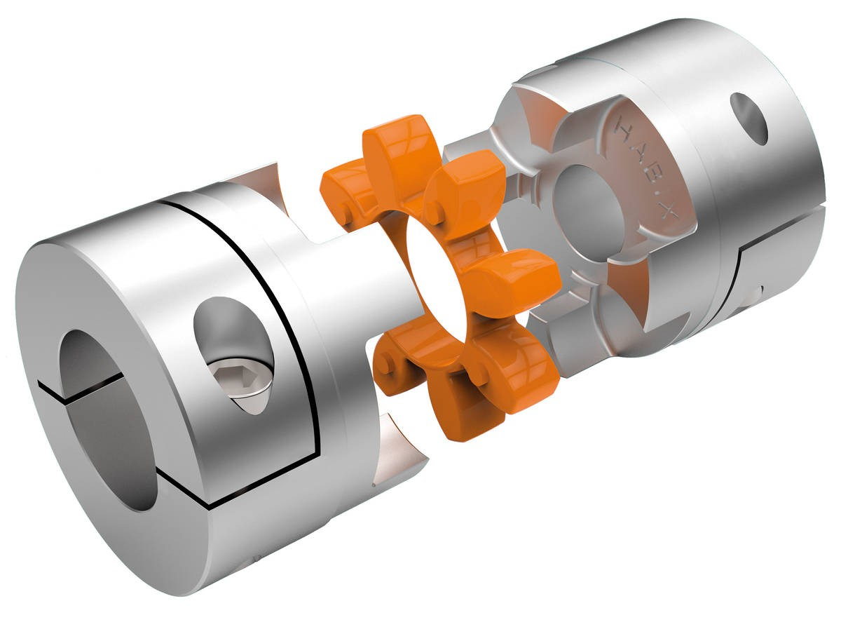 Desch Flexible coupling made of aluminium, from size 65 made of steel Image