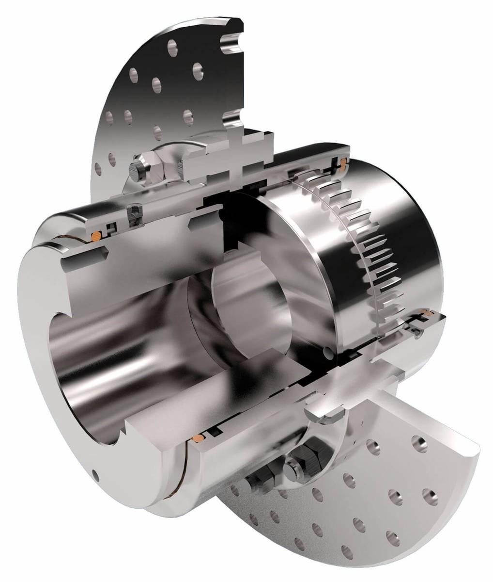 Desch GCB - with brake disc  Gear Couplings Image