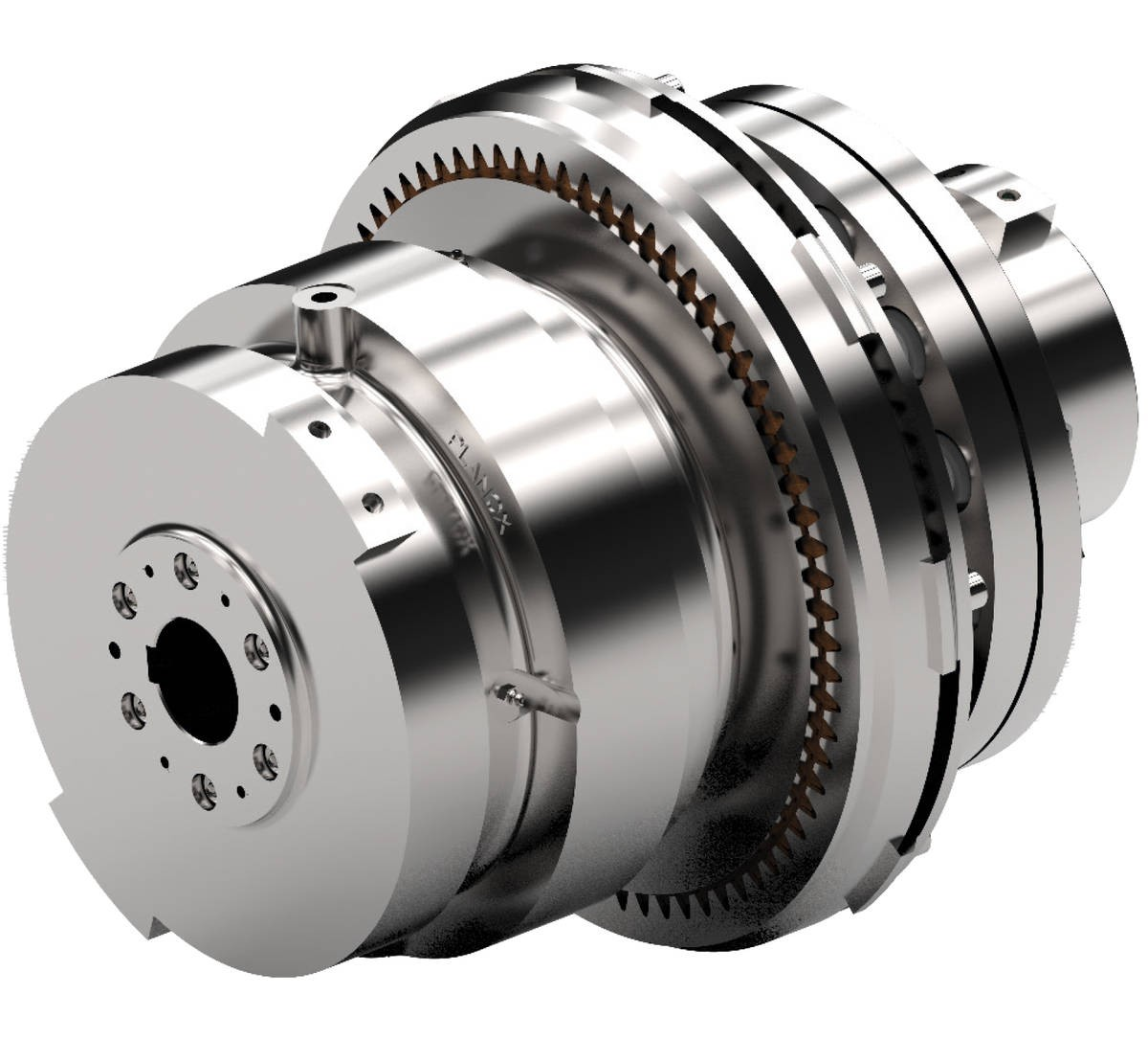 Desch Planox® clutch type PPRF with flexible Ox-coupling  Safety Clutches for Extruder Drives Image