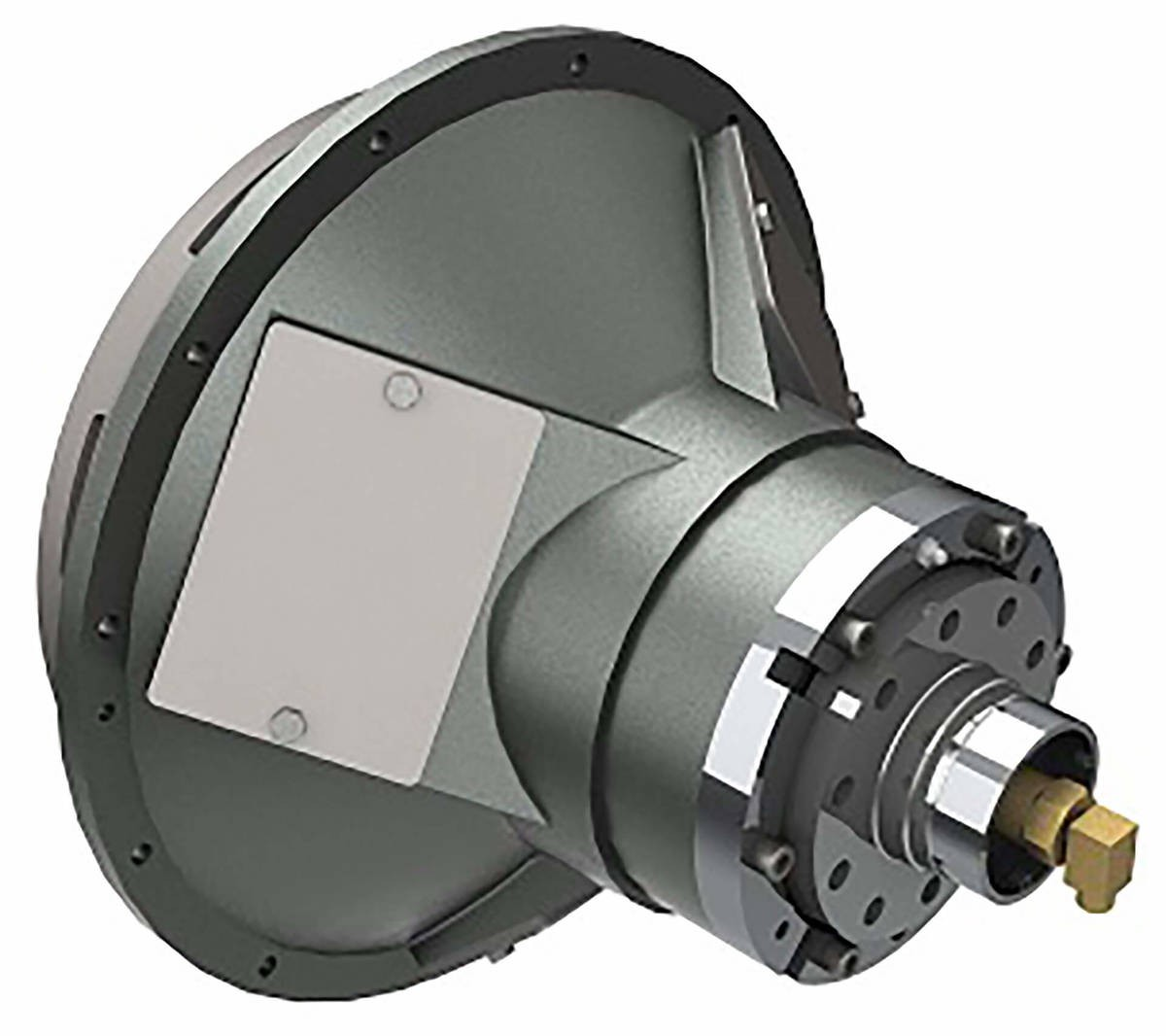 Desch Planox® PHA actuated hydraulically, bell-shaped model  Multi Plate Friction Clutch Image
