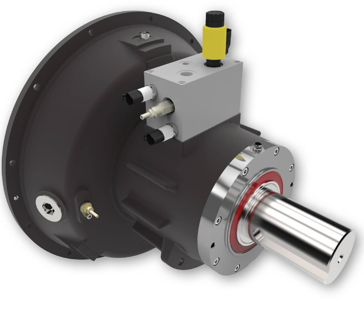 Desch Planox® PHRA hydraulically actuated, bell-shaped model, radial oil feed  Multi Plate Friction Clutch Image
