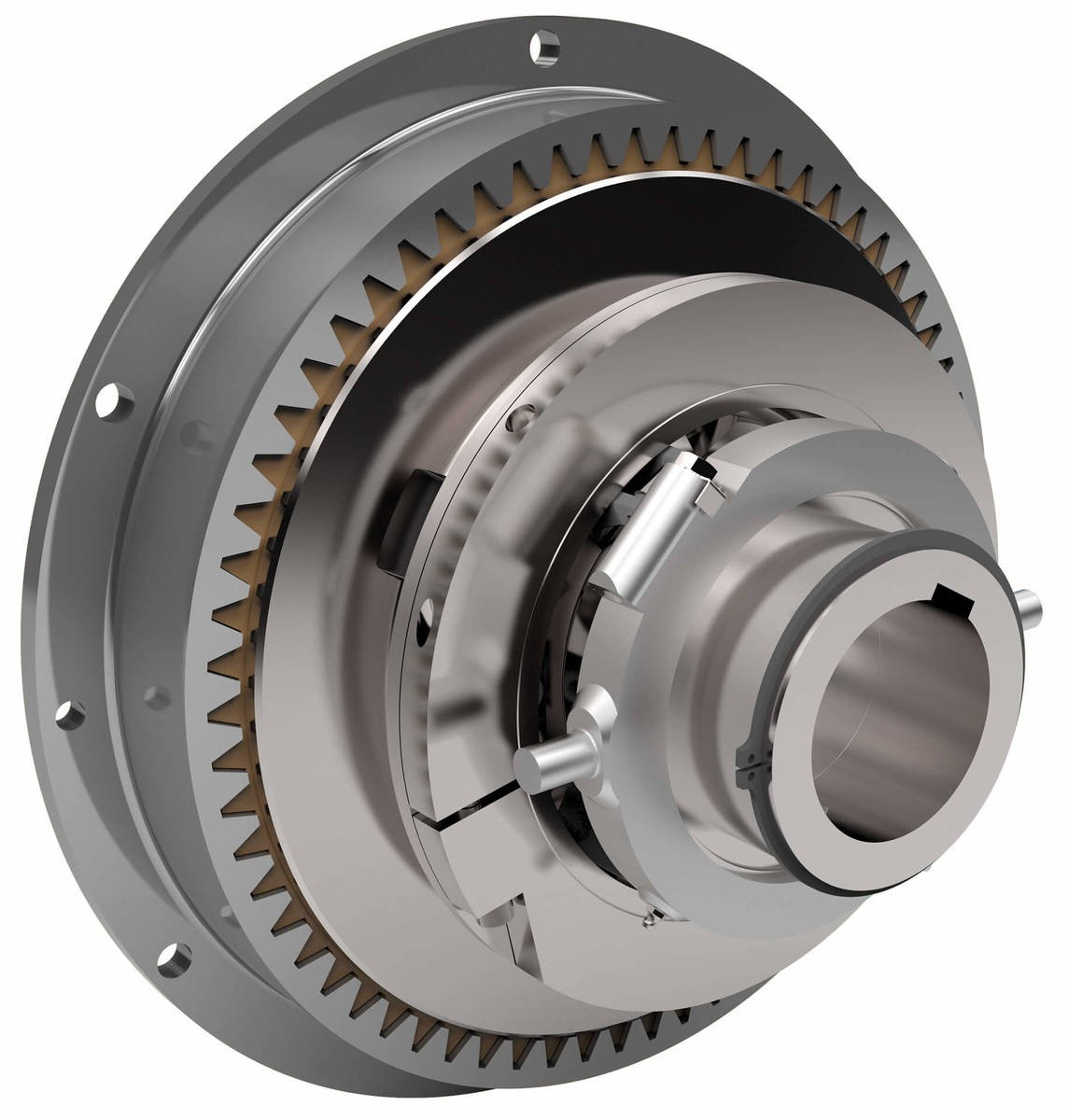 Desch Planox® PM mechanically actuated   Multi Plate Friction Clutch Image