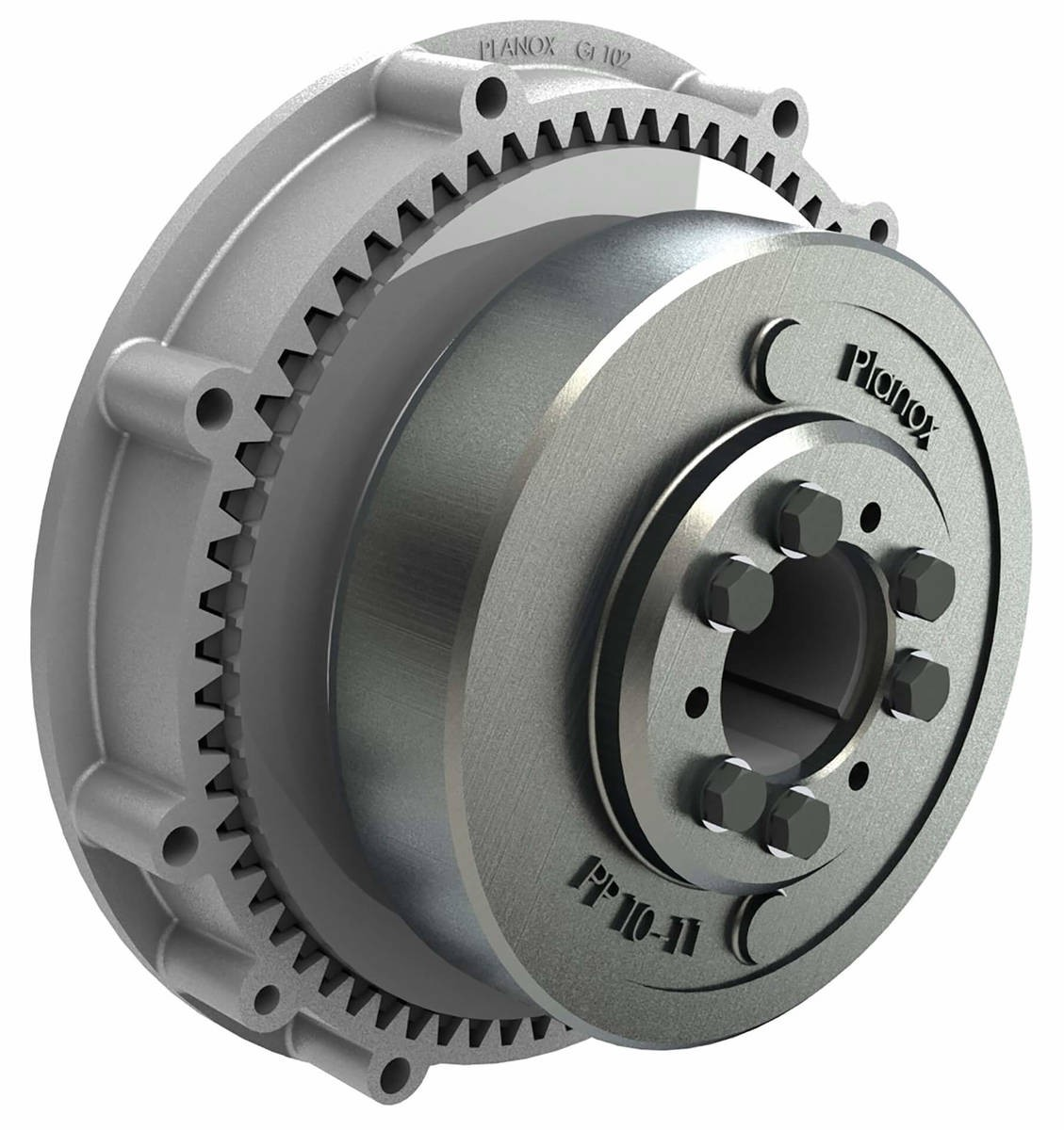 Desch Planox® PP switched on pneumatically  Multi Plate Friction Clutch Image