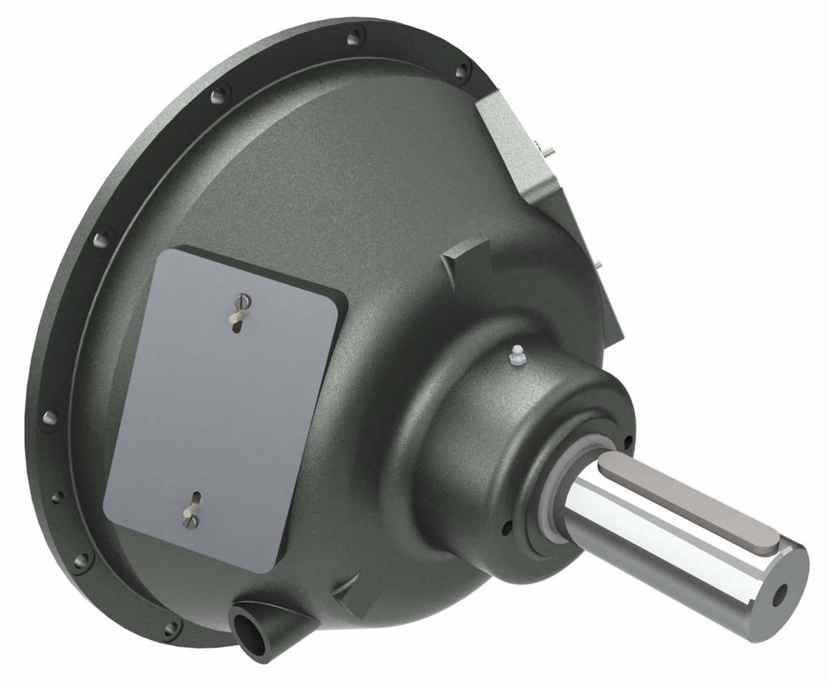 Desch Planox® PPA actuated pneumatically, bell-shaped model  Multi Plate Friction Clutch Image