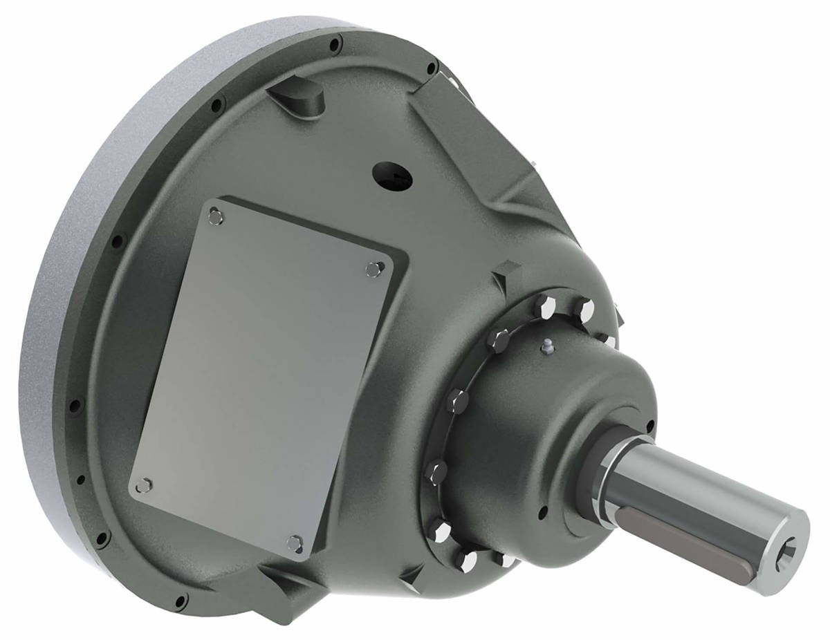 Desch Planox® PPRA actuated pneumatically, bell-shaped model, radial air supply  Multi Plate Friction Clutch Image