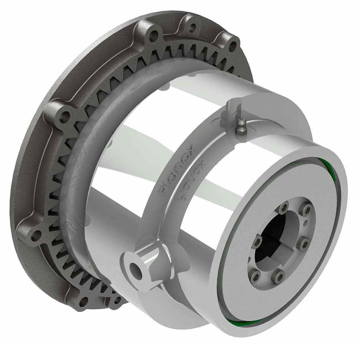 Desch Planox® PPRT switched off pneumatically  Multi Plate Friction Clutch Image