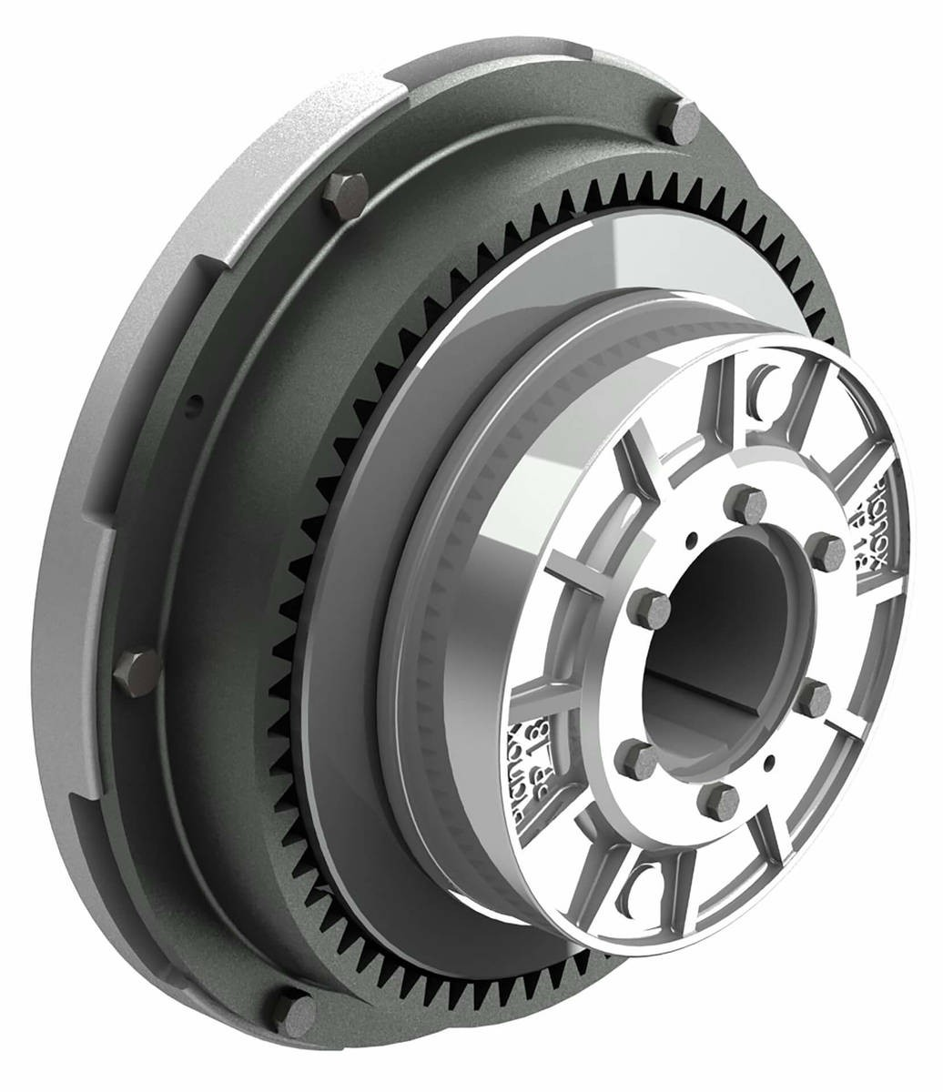 Desch Planox® PPT switched off pneumatically  Multi Plate Friction Clutch Image
