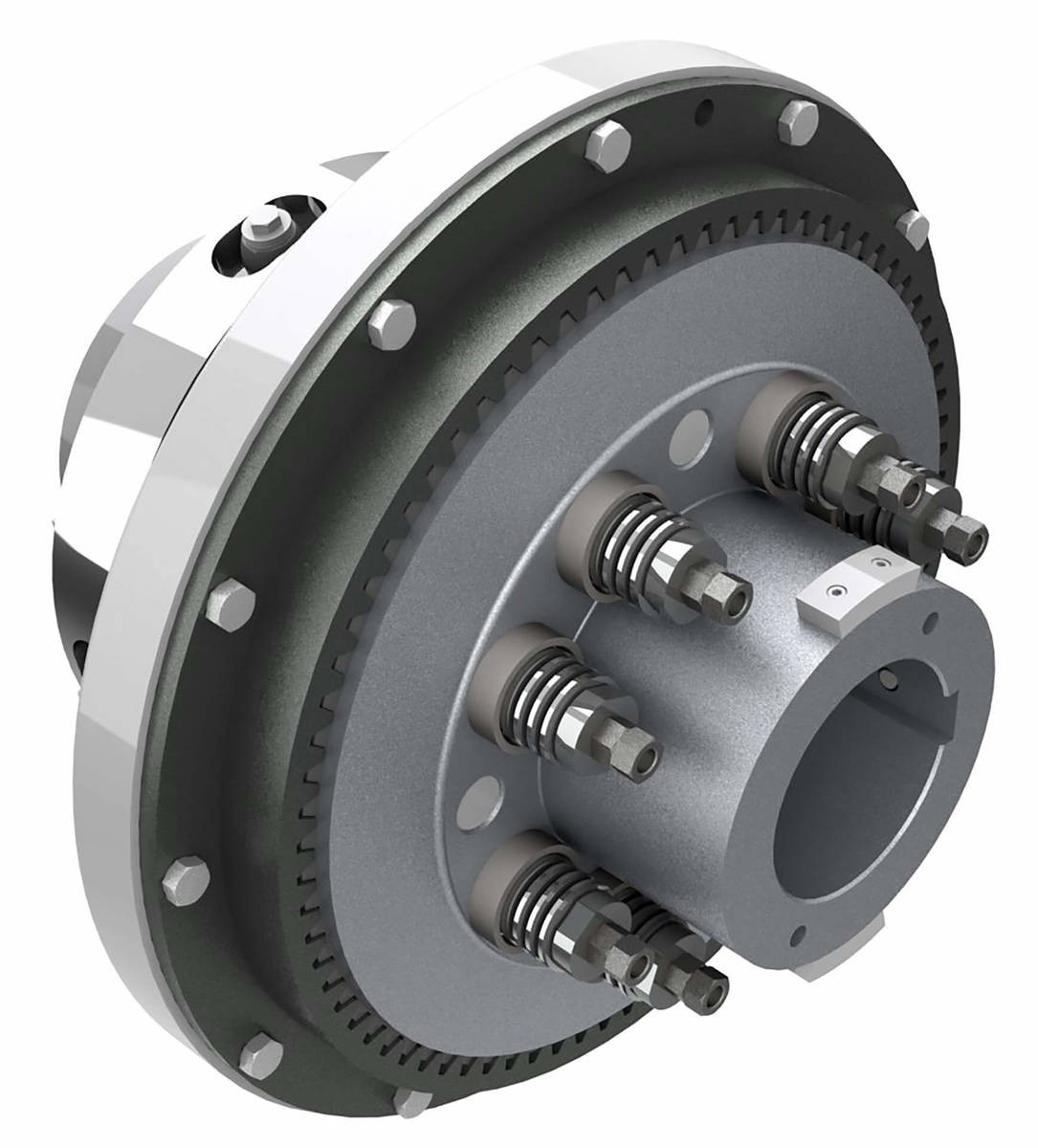 Desch Planox® PT loaded by cup springs  Multi Plate Friction Clutch Image