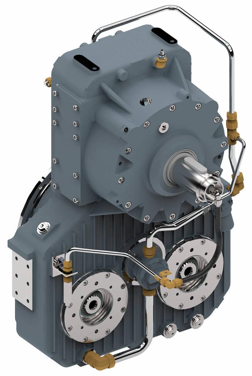 Desch Revox® Series   Hydraulic start-up Gearbox Image