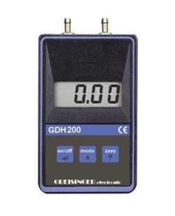 Greisinger GDH200-11  Vacuum / Barometer with Pressure Port Image
