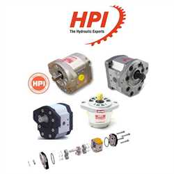 HPI P1AAN2015HL10B02N  Gear Pumps Image