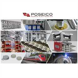 Poseico ATD250HVIS33 Thyristor Insulated Module Image