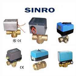 Sinro SDFB16B220 Actuator With Valve Image