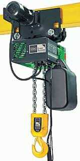 Stahl ST 5025-6/1,5 2/1  Electric Chain Hoist Image