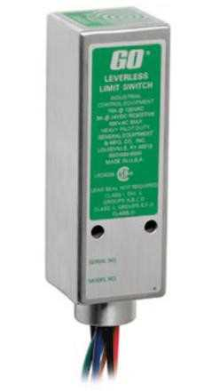 Topworx 81-20527DBD - 1/4Inch End Sensing, DPDT, UL GP, 4-Pin, Stainless Steel, Model 81 Go Switch Image